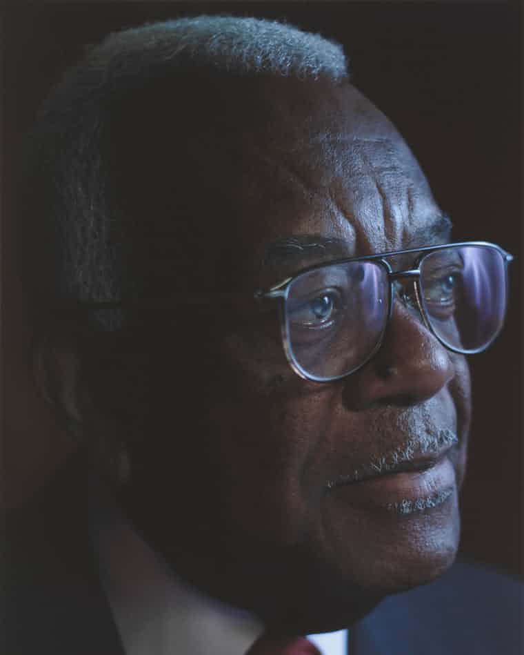 Trevor McDonald also featured in the series 'Black is the New Black'. (Simon Frederick/NPG/PA)