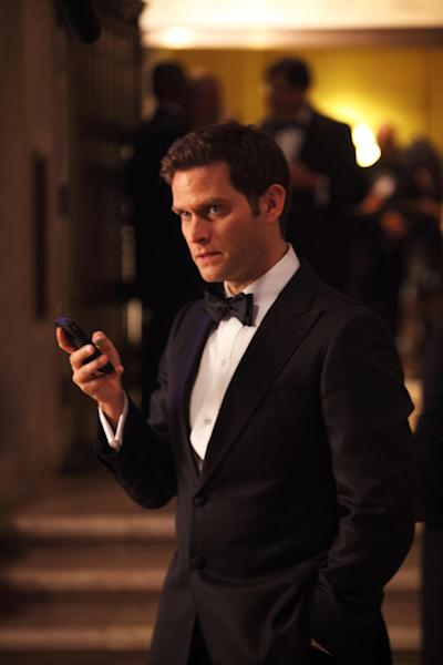 "This undated publicity photo released by NBC shows Steven Pasquale, as Dr. Jason Cole/Ian Price, in a scene from the TV series, ""Do No Harm,"" Season 1,""Me Likey,"" Episode 104. NBC is pulling the drama series ""Do No Harm"" after two low-rated episodes. The show, a take on the Dr. Jekyll-Mr. Hyde story, starred Pasquale of ""Rescue Me."" (AP Photo/NBC, Eric Liebowitz)"