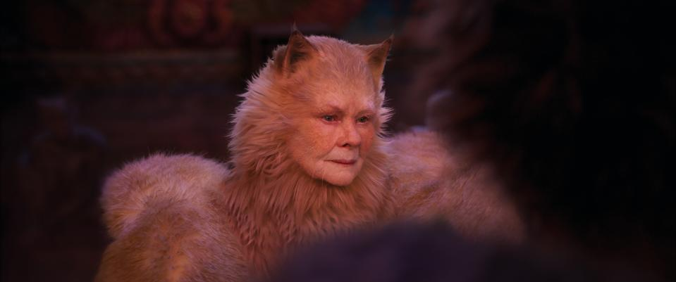 Judi Dench in <i>Cats</i> (Universal)