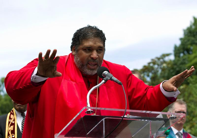 Rev. William J. Barber is the co-chair of the<i></i>Poor People&rsquo;s Campaign: A National Call for Moral Revival, which draws inspiration from Rev.Martin Luther KingJr.'s 1968Poor People's Campaign. (Photo: AP Photo/Jose Luis Magana, File)