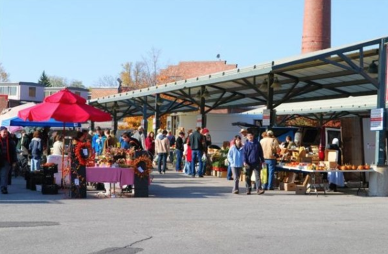 The Bloomington Community Farmers' Market in Indiana has been suspended for two weeks over growing concerns and tensions between protestors and vendors who are allegedly connected to white nationalist causes and groups. (Photo: City of Bloomington/Facebook)