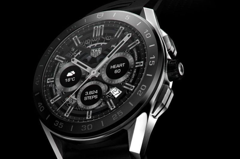 """<p>Connected (2020)</p><p><a class=""""link rapid-noclick-resp"""" href=""""https://www.watches-of-switzerland.co.uk/c/Brands/TAG-Heuer/filter/Show_All/"""" rel=""""nofollow noopener"""" target=""""_blank"""" data-ylk=""""slk:SHOP"""">SHOP</a><br><br>Tag Heuer's third generation smartwatch, featuring a more refined design and added sensors for sport and fitness. A new dedicated Sports app uses GPS plus heart rate, compass, accelerometer and gyroscopic sensors for tracking activities including golf, running and cycling. Tag Heuer has also been able to make this itineration physically smaller by hiding the antennas underneath a new ceramic bezel, in addition to putting the screen closer to the sapphire glass. It also looks more like a traditional watch.</p><p>From £1,495; <a href=""""https://www.tagheuer.com/gb/en/"""" rel=""""nofollow noopener"""" target=""""_blank"""" data-ylk=""""slk:tagheuer.com"""" class=""""link rapid-noclick-resp"""">tagheuer.com</a></p>"""