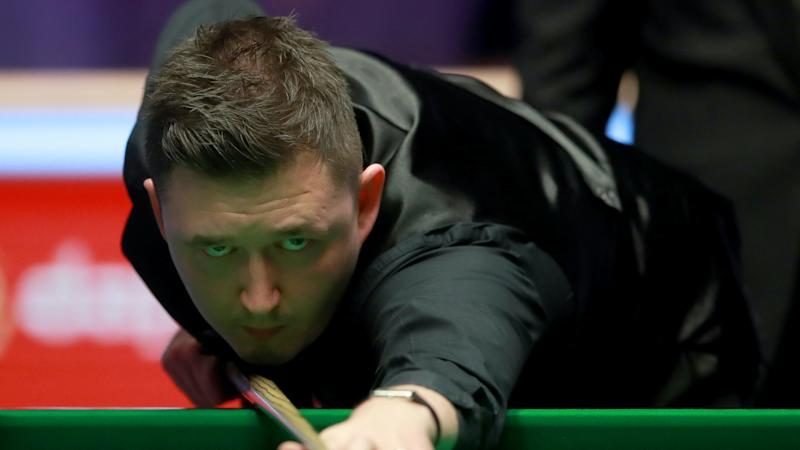 Kyren Wilson turns on the style to stop Anthony McGill in his tracks
