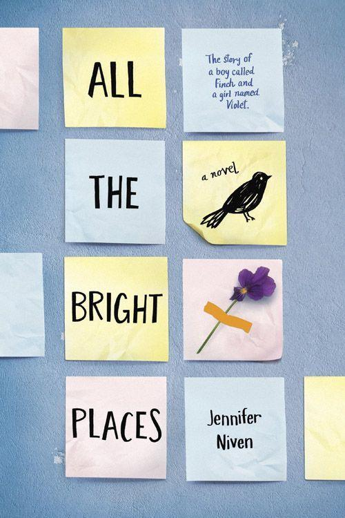 """<p><strong><em>All the Bright Places</em> by Jennifer Niven</strong></p><p><span class=""""redactor-invisible-space"""">$8.28 <a class=""""link rapid-noclick-resp"""" href=""""https://www.amazon.com/All-Bright-Places-Jennifer-Niven/dp/0385755910/ref=tmm_pap_swatch_0?tag=syn-yahoo-20&ascsubtag=%5Bartid%7C10063.g.34149860%5Bsrc%7Cyahoo-us"""" rel=""""nofollow noopener"""" target=""""_blank"""" data-ylk=""""slk:BUY NOW"""">BUY NOW</a> </span></p><p>Theodore Finch and Violet Markey want nothing more than to escape their small town in Indiana, but for different reasons. Violet, looking to put the memories of her sister's death in the past, lives for the future. Theodore, who's suffering from a mental illness, is looking to take his own life. As a romance blossoms between the two, they realize they bring the best out in each other ... until they realize their lives are going in different directions.</p>"""