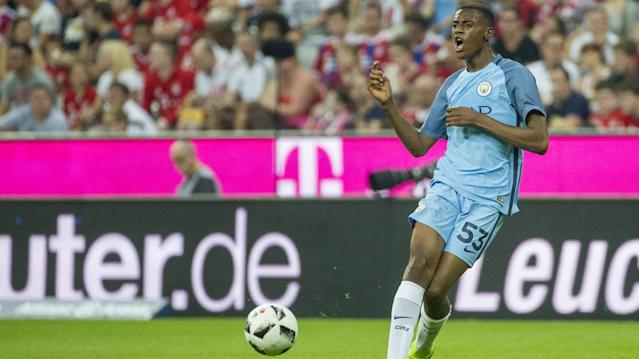 Tosin Adarabioyo of Manchester City
