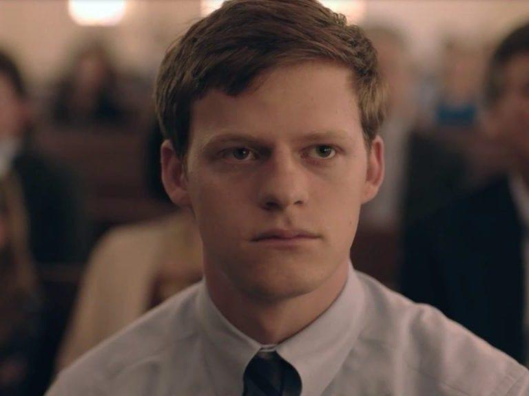 """Lucas Hedges played a gay teenager who's been outed in """"Boy Erased."""""""