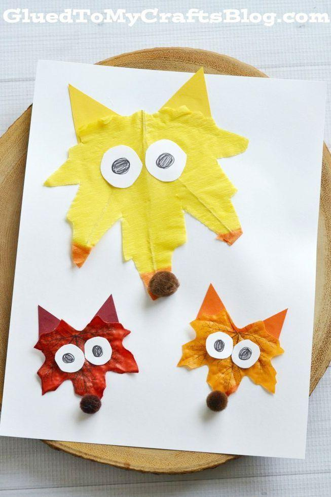 """<p>Send the kids outside to forage for the brightest leaves they can find before dinner. Not only will they burn off some energy, but they'll also find the perfect pieces to make these cute critters.</p><p><strong>Get the tutorial at <a href=""""https://www.gluedtomycraftsblog.com/2015/11/popsicle-stick-fox-kid-craft.html"""" rel=""""nofollow noopener"""" target=""""_blank"""" data-ylk=""""slk:Glued to My Craft Blog"""" class=""""link rapid-noclick-resp"""">Glued to My Craft Blog</a>.</strong></p><p><strong><a class=""""link rapid-noclick-resp"""" href=""""https://www.amazon.com/Creativity-Street-Pons-100-Piece-Brown/dp/B00P0NKDNG/?tag=syn-yahoo-20&ascsubtag=%5Bartid%7C10050.g.1201%5Bsrc%7Cyahoo-us"""" rel=""""nofollow noopener"""" target=""""_blank"""" data-ylk=""""slk:SHOP POM POMS"""">SHOP POM POMS</a><br></strong></p>"""