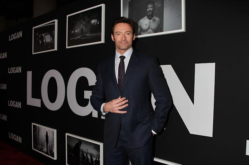 Hugh Jackman at the film's Berlin launch (Credit: 20th Century Fox)