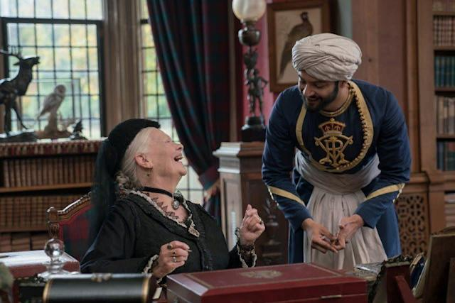 """Never underestimate the Judi Dench Effect. At 82, Dench has found unlikely box-office prosperity and ample Oscar nominations to show for it (sevenina short 19 years). """"Victoria & Abdul,"""" in which she portrays Queen Victoria in the years before her death, has collected $20 million domestically and counting. In today's Hollywood economy, that's adecent sum for a stately period piece. It could easily translate to Dench's eighth nod. Everyone loves a dame."""