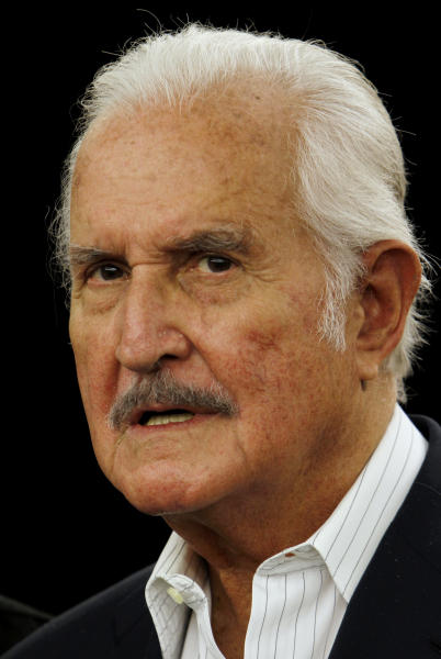 FILE - In this Dec. 15, 2011 file photo, Mexican author Carlos Fuentes attends a signing event for his book, The Great Latin American Novel, in Mexico City. Fuentes, Mexico's most celebrated novelist and among Latin America's most prominent authors, died on May 15, 2012. (AP Photo/Marco Ugarte, File)