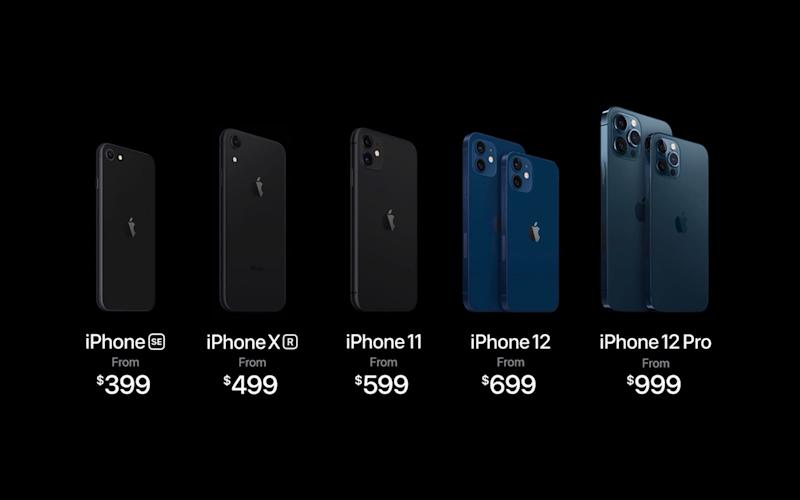 The new iPhone prices