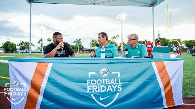 Dolphins To Host 'The Audible: Football Fridays' At Miami-Dade, Broward & Palm Beach High School Football Games For Third Consecutive Year