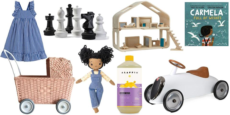 <p>Birthday and big life events are not all about gifts—but bestowing the right present upon the little one in your life comes with a certain kind of magic. Are they moon gazers? Little architects? Literary stars in the making? Shop the gifts that keep on giving. </p>