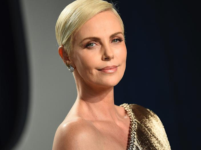 Charlize Theron in February 2020.