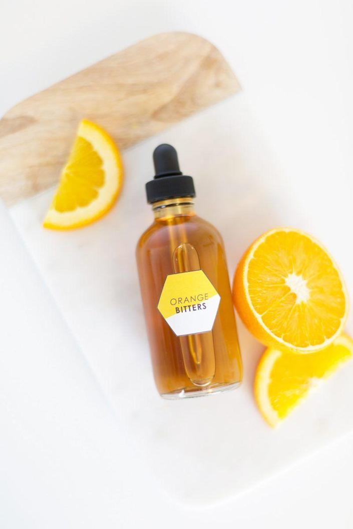 """<p>She'll be able to craft the perfect cocktail with these homemade bitters. They'll also just look really nice sitting on her bar cart.</p><p><strong>Get the tutorial at <a href=""""https://lovelyindeed.com/how-to-make-homemade-orange-bitters/"""" rel=""""nofollow noopener"""" target=""""_blank"""" data-ylk=""""slk:Lovely Indeed"""" class=""""link rapid-noclick-resp"""">Lovely Indeed</a>.</strong></p><p><strong><a class=""""link rapid-noclick-resp"""" href=""""https://go.redirectingat.com?id=74968X1596630&url=https%3A%2F%2Fwww.walmart.com%2Fbrowse%2Farts-crafts-sewing%2Fcraft-storage%2F1334134_6355365_1285843&sref=https%3A%2F%2Fwww.thepioneerwoman.com%2Fholidays-celebrations%2Fgifts%2Fg32307619%2Fdiy-gifts-for-mom%2F"""" rel=""""nofollow noopener"""" target=""""_blank"""" data-ylk=""""slk:SHOP CRAFT STORAGE"""">SHOP CRAFT STORAGE</a><br></strong></p>"""
