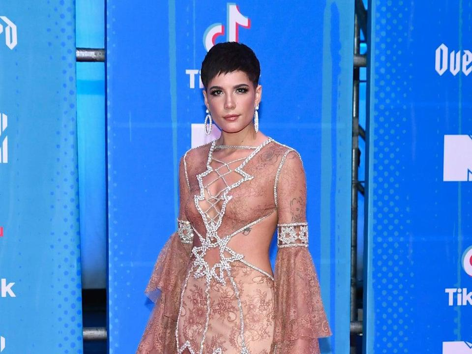 Halsey shares message about postpartum body after SNL praise (Getty Images for MTV)