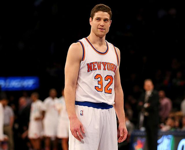 Jimmer Fredette is thinking about a return to the NBA. (Getty)