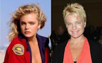 Erika Eleniak (Shauni McClain): On the show playing lifeguard Shauni McClain from 1989 to 1992, the former child star (she was the girl Elliott kissed in the classroom scene in 'E.T.') continued to act, appearing in movies like 'Under Siege' with Steven Seagal, and 'The Beverly Hillbillies'. Consequent movie projects were more of the 'straight to DVD' variety, however. She's linked to the lead in a new project about the reincarnation of Marilyn Monroe.