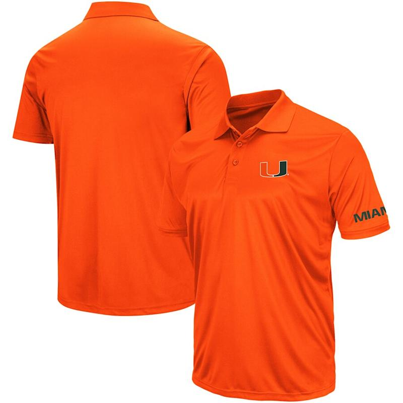 Miami Hurricanes Colosseum Stance Polo