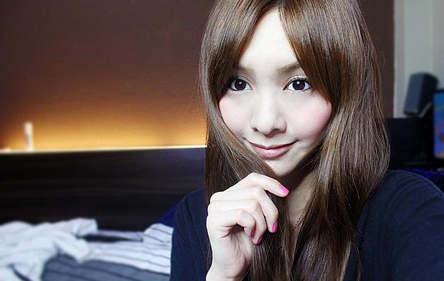 K-pop girl group hopeful Elaine Yuki Wong has dropped out (Photo from Elaine's blog)