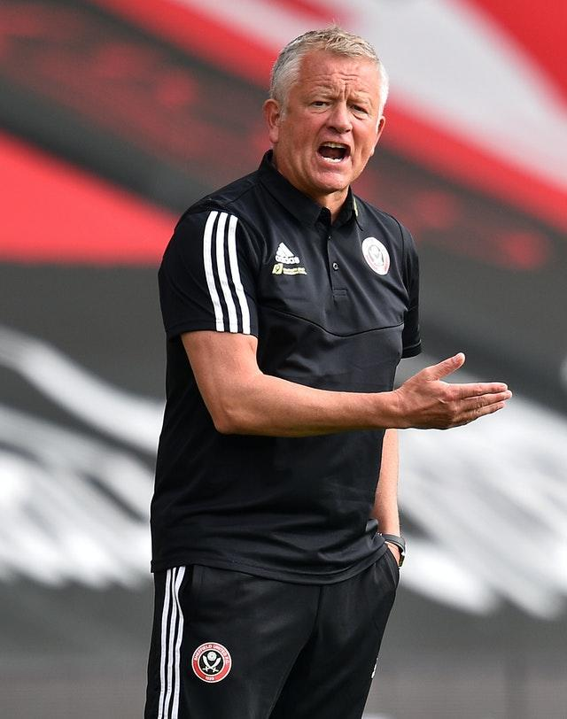 Sheffield United manager Chris Wilder, pictured, reluctantly sold Aaron Ramsdale to Bournemouth in 2017
