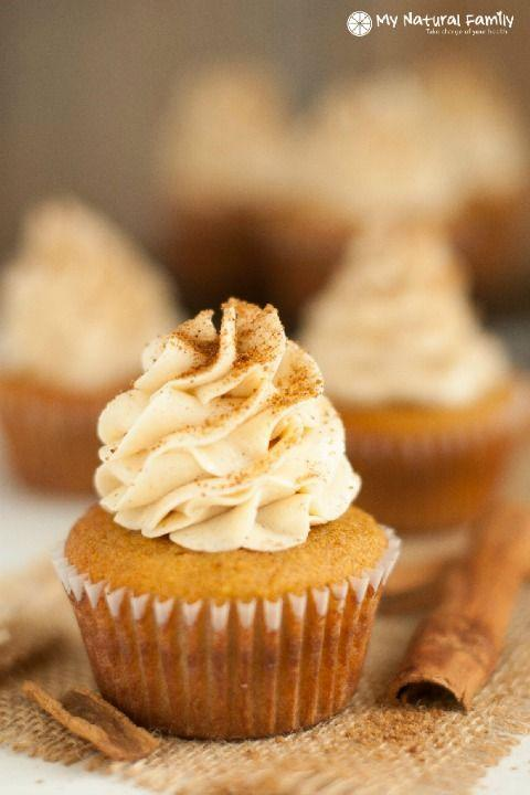 """<p>Your eyes see a cupcake, but your tastebuds will swear it's a Snickerdoodle cookie.</p><p><strong><a href=""""http://www.mynaturalfamily.com/recipes/paleo-recipes/snickerdoodle-paleo-cupcakes-recipe/"""" rel=""""nofollow noopener"""" target=""""_blank"""" data-ylk=""""slk:Get the recipe at My Natural Family."""" class=""""link rapid-noclick-resp"""">Get the recipe at My Natural Family.</a></strong></p>"""