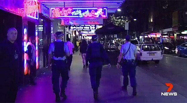 It was a number of violent incidents that led to the lockout laws and the drop off in business. Source: 7 News
