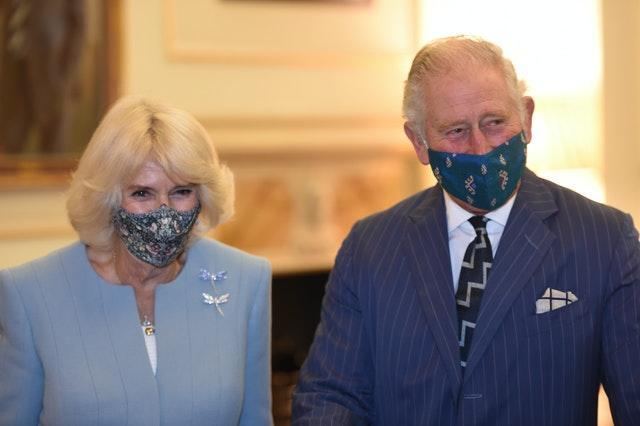 Camilla and Charles learnt about the Bank of England's work in areas from the environment to supporting the economy. Eddie Mulholland/The Daily Telegraph