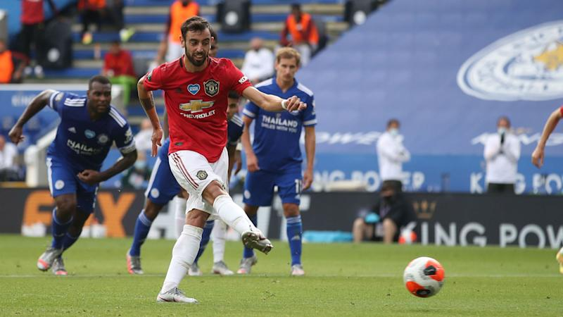Bruno Fernandes happy to pass on penalty duty at Man Utd despite boasting perfect record