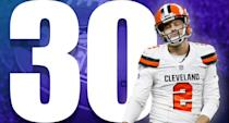 <p>I'll give Tyrod Taylor credit for driving his team downfield, twice, late in Sunday's game. But where was that for the first 55 or so minutes? (Zane Gonzalez) </p>