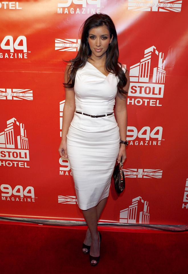 <p>Well before Markle, the Jackie O. was spotted on Kim Kardashian at an event in 2007. </p>