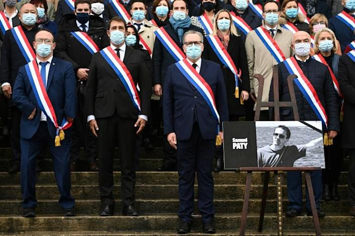 French legislators paid tribute to murdered teacher Samuel Paty