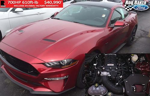 Rod Baker Ford >> Rod Baker Ford Is Now Offering 700 Horsepower Roush