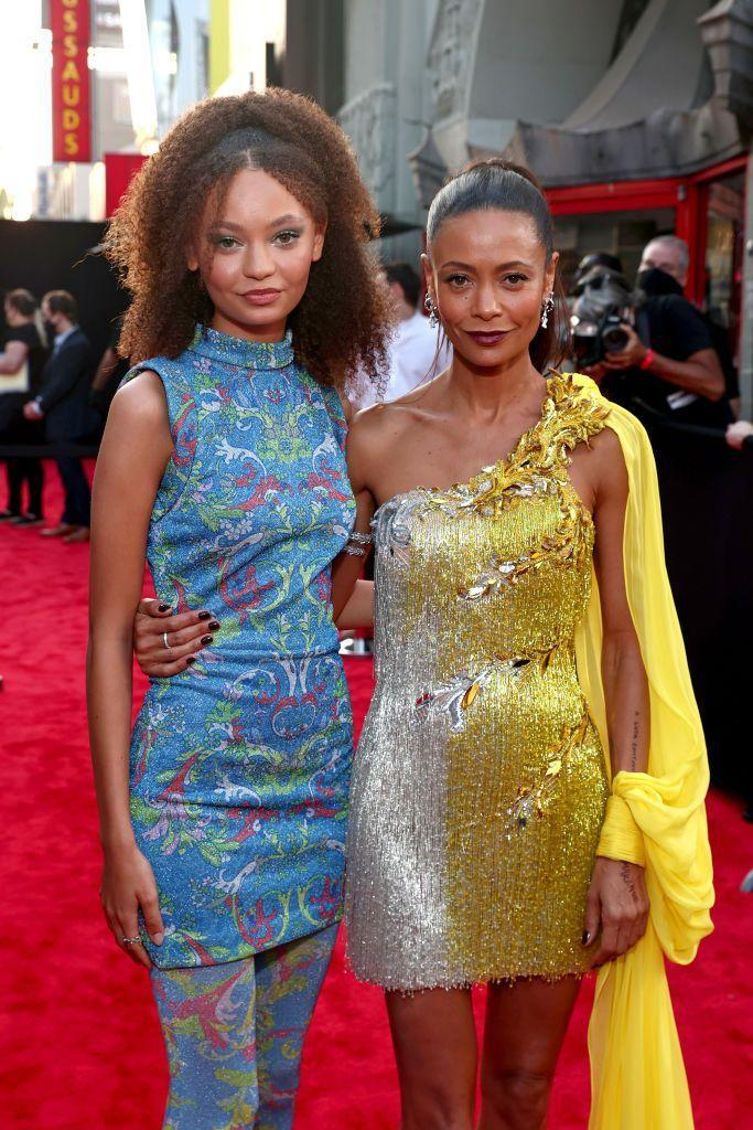 <p>Thandiwe Newton brought her 16-year-old daughter Nico Parker to the Los Angeles premiere of her new film Reminiscence and the pair instantly sent fans wild on social media. It wasn't just their absolute stunner outfits but also the fact that Nico is the total spit of her mum. </p>
