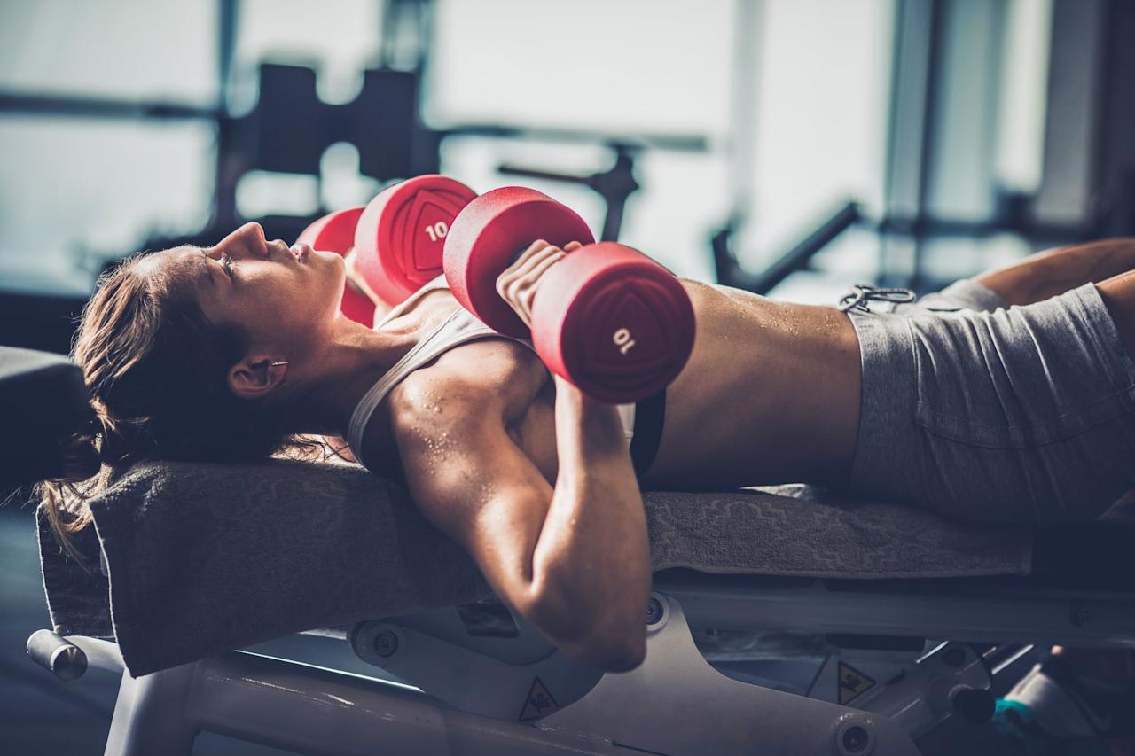 """<p>If there's one kind of exercise that's 100 percent recommended for fat loss, <a href=""""https://www.popsugar.com/fitness/Strength-Training-Help-Me-Lose-Weight-43582214"""" class=""""ga-track"""" data-ga-category=""""Related"""" data-ga-label=""""https://www.popsugar.com/fitness/Strength-Training-Help-Me-Lose-Weight-43582214"""" data-ga-action=""""In-Line Links"""">it's strength training</a>. The reasoning is pretty simple: when you strength train, you build lean muscle, which is metabolically """"expensive,"""" Devon said. """"Our body is constantly creating energy for these muscles in order to function,"""" he explained. In other words, """"Building muscle is going to <a href=""""https://www.popsugar.com/fitness/What-Can-I-Do-Boost-My-Metabolism-45600476"""" class=""""ga-track"""" data-ga-category=""""Related"""" data-ga-label=""""https://www.popsugar.com/fitness/What-Can-I-Do-Boost-My-Metabolism-45600476"""" data-ga-action=""""In-Line Links"""">increase your metabolism</a> and have you burning more calories throughout the day,"""" Nick told POPSUGAR. """"Putting on 5 to 10 pounds of muscle is one of the most important things you can do to increase your fat-burning engine.""""</p> <p>That metabolic boost makes strength training somewhat more effective than cardio for fat loss, but cardio """"can be a useful tool,"""" Nick said, """"especially when progress slows"""" and you need to up your calorie burn. You also shouldn't strength train the same muscle groups for two or more days in a row. """"Allow for at least 24-48 hours of rest before we use those large muscle groups again,"""" Davon said.</p>"""