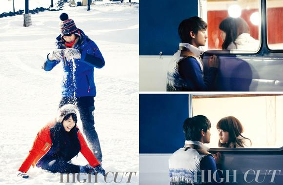 Kim Soo Hyun and Suzy's romantic date in snow revealed