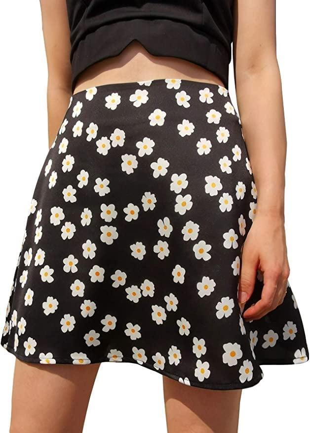 <p>I have worn this <span>Lyaner Satin Floral Skirt</span> ($17) three times now, and I have been able to style it in completely different ways. It looks cute worn casual with a white tee and sneakers, or more dressed up with heels and a strappy camisole.</p>