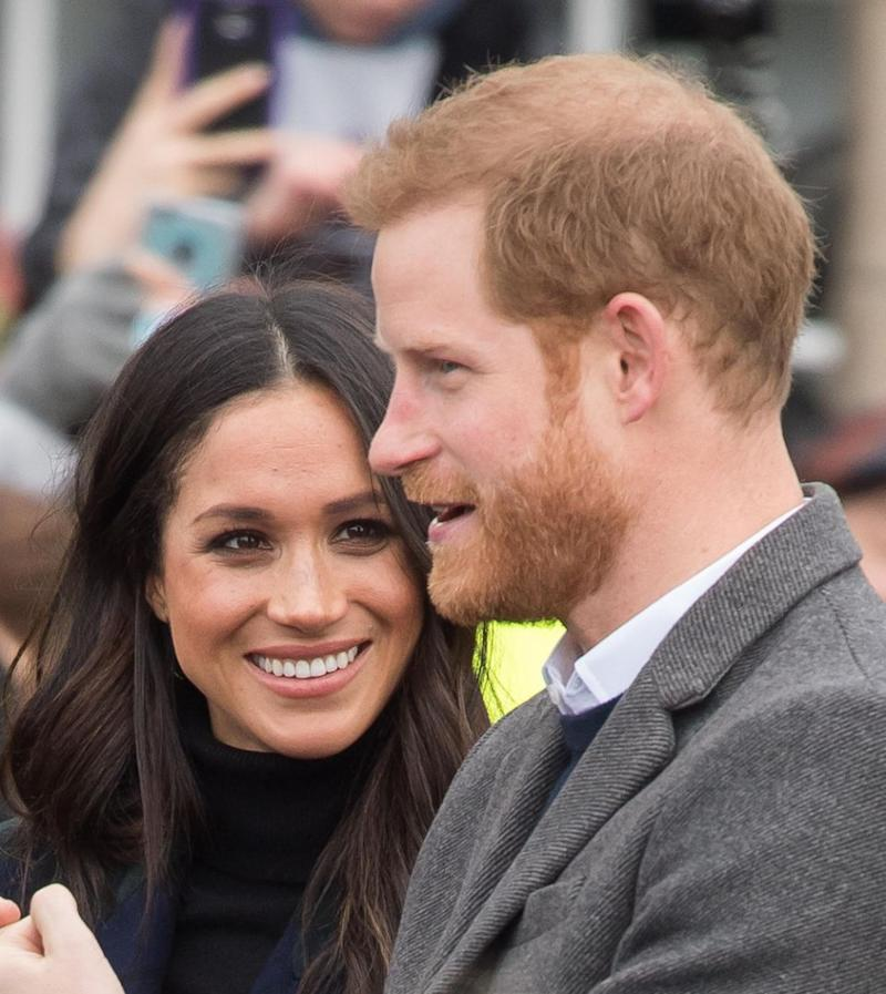 The couple are counting down until their May 19 wedding - but there's still speculation around their guest list. Photo: Getty