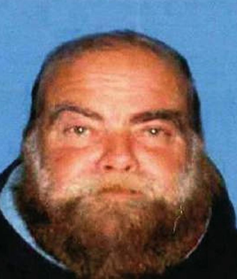This photo provided by the Santa Monica Police Department shows Ron Hirsch, 60, a transient, who has been linked to an explosion April 7, 2011 near Chabad House Lubavitch of Santa Monica,Calif. Police stepped up patrols at synagogues and other houses of worship in a Los Angeles looking for Hirsch.(AP Photo/Santa Monica Police Department)