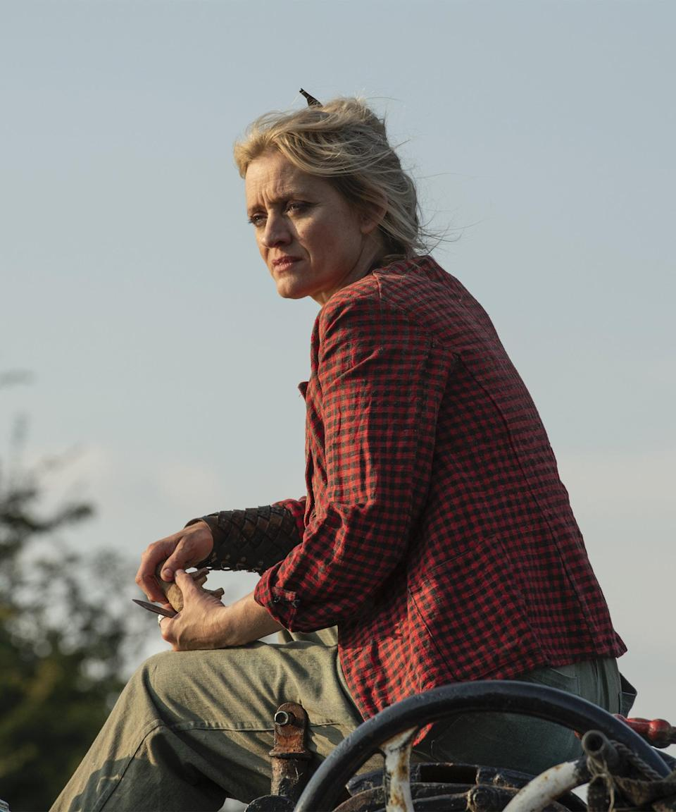 <strong><h2>Anne-Marie Duff Plays Ma Costa</h2></strong> <br> <strong>Who Is Ma Costa?<br></strong>Ma Costa watched over Lyra as a young baby, and kept her safe during Lord Asriel's fight with Mr. Colter. She asked if she could actually adopt Lyra but was denied this request, and instead kept on eye on her from a distance to make sure she was always okay. Ma Costa is a Gyptian woman and a respected one at that, and her son is later kidnapped by the Gobblers. Her dæmon is a goshawk named Jal. <br> <br> <strong>Where You've Seen Duff<br></strong>Duff played the original Fiona for Channel 4's <em>Shameless</em>, but tends to stick to the theatre in London, where she's played Lady Macbeth twice, along with Wendy in <em>Peter Pan</em> and Cordelia in <em>King Lear</em>. She also has one child with her ex-husband (who she met on the set of <em>Shameless</em> and who's also on <em> His Dark Materials</em>), James Mcavoy.