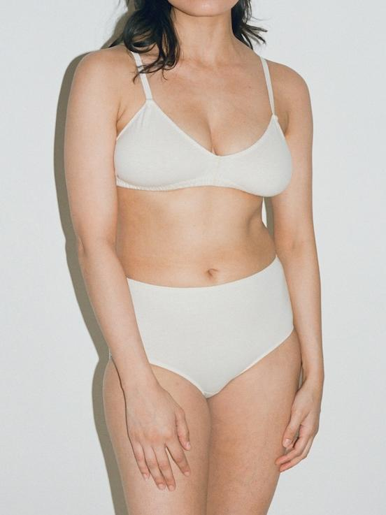 """<br><br><strong>Pansy</strong> Bra, $, available at <a href=""""https://go.skimresources.com/?id=30283X879131&url=https%3A%2F%2Fwww.pansy.co%2Fshop%2Fbra"""" rel=""""nofollow noopener"""" target=""""_blank"""" data-ylk=""""slk:Pansy"""" class=""""link rapid-noclick-resp"""">Pansy</a><br><br><strong>Pansy</strong> High Rise, $, available at <a href=""""https://go.skimresources.com/?id=30283X879131&url=https%3A%2F%2Fwww.pansy.co%2Fshop%2Fhigh-rise"""" rel=""""nofollow noopener"""" target=""""_blank"""" data-ylk=""""slk:Pansy"""" class=""""link rapid-noclick-resp"""">Pansy</a><span class=""""copyright"""">Photo Courtesy of Pansy.</span>"""