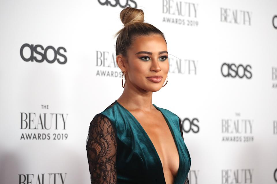 Montana Brown attends The Beauty Awards 2019. (Photo by Lia Toby/Getty Images)