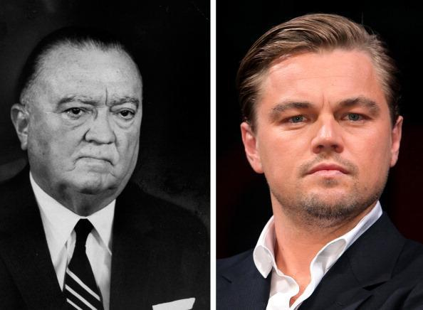 (FILE PHOTO) In this composite image a comparison has been made between J. Edgar Hoover (L) and Actor Leonardo DiCaprio. Oscar hype begins this week with the announcement of the nominations for the 69th annual Golden Globes and the 18th Annual Screen Actors Guild Awards. Luise Rainer became the first actress to receive an Academy Award for her role in the 1936 biopic 'The Great Ziegfeld,' playing stage performer Anna Held. Over half of the last ten Oscars for best actor or actress have been for performances in a biopic. The trend continues this year with the nominations for actors Michelle Williams, Meryl Streep, Viggo Mortensen, Brad Pitt and Leonardo DiCaprio for their roles in 'My Week With Marilyn.' 'The Iron Lady,' 'A Dangerous Method,' 'Moneyball' and 'J Edgar.' ***LEFT IMAGE***1965: FBI dir. J. Edgar Hoover looks on at Andrews AFB in 1965. (Photo by Stan Wayman//Time Life Pictures/Getty Images)***RIGHT IMAGE***TOKYO - JULY 21: Actor Leonardo DiCaprio attends the 'Inception' press conference at the Ritz-Carlton Tokyo on July 21, 2010 in Tokyo, Japan. The film will open in Japan on July 23. (Photo by Kiyoshi Ota/Getty Images)