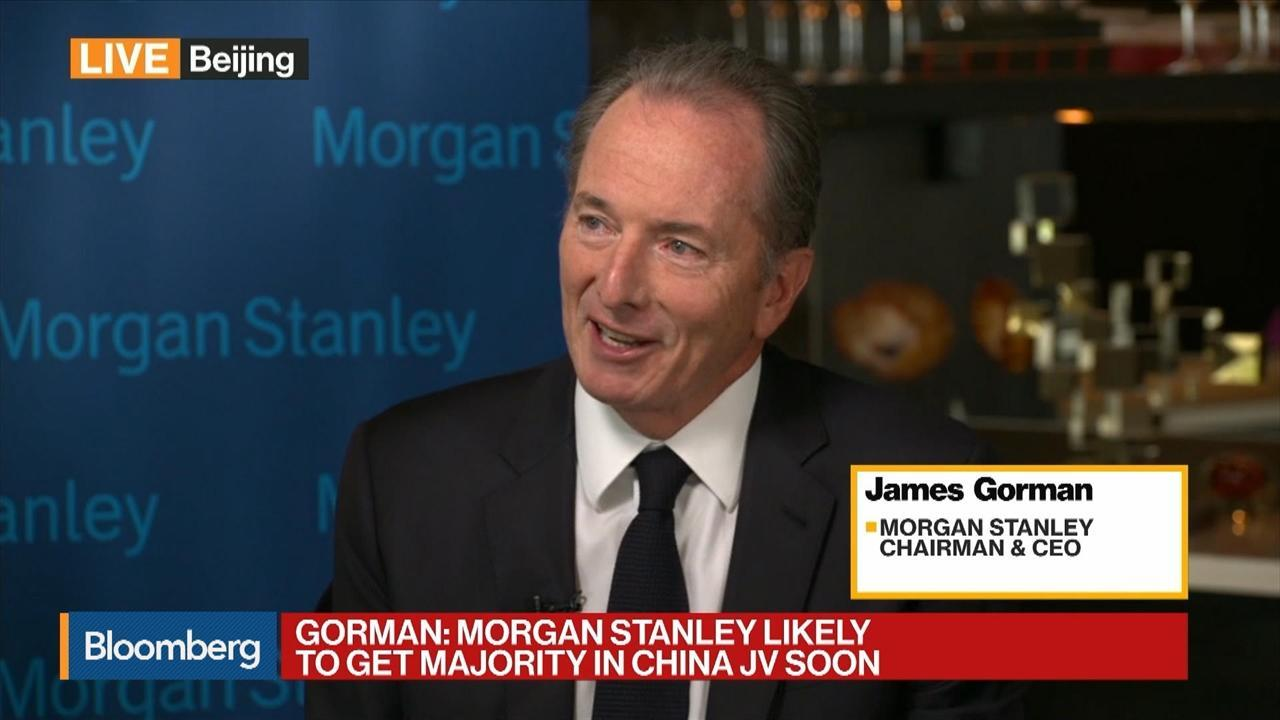 Morgan Stanley CEO Gorman on China Business, Trade Disputes, Markets