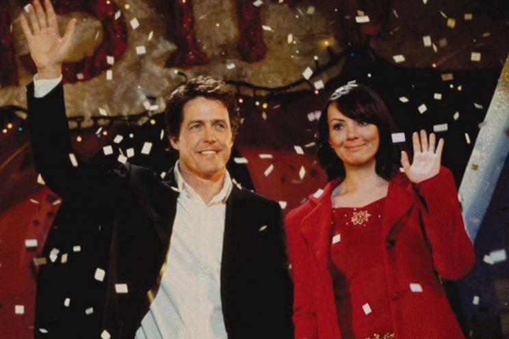 Hugh Grant and Martine McCutcheon in 'Love Actually' (Credit: Universal Pictures)