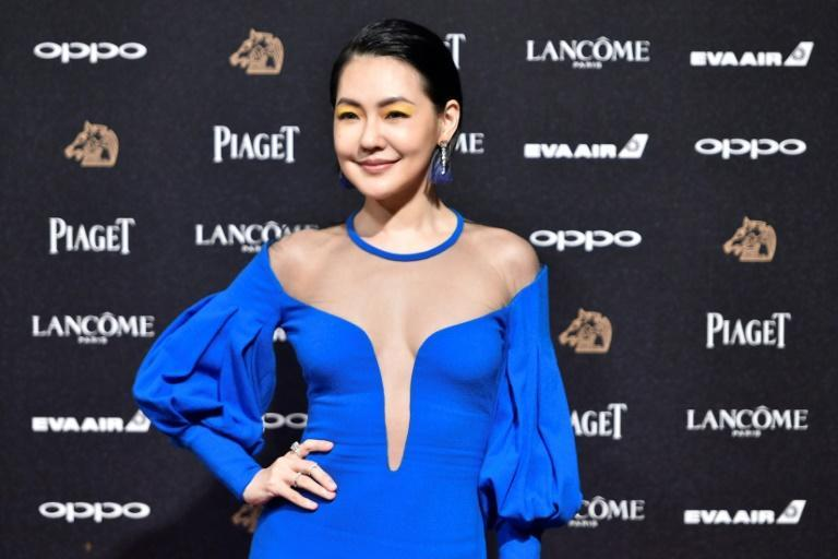 Taiwanese celebrity Dee Hsu has a large following in mainland China