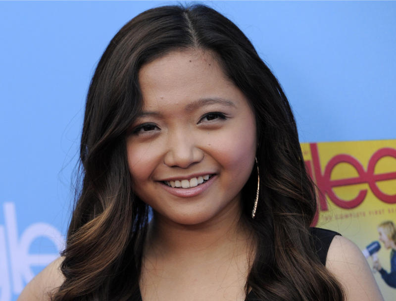 """FILE - In this Sept. 7, 2010 file photo, Charice, a cast member in """"Glee,"""" arrives at the television show's second season premiere in Los Angeles. The Filipino singer, who played the role of an exchange student in """"Glee,"""" has come out in an emotional TV interview in which she apologized to her mother and brother. The 21-year-old said on a talk show on ABS-CBN TV Sunday, June 2, 2013, that she wants to apologize to those who do not understand and cannot accept her. (AP Photo/Chris Pizzello, File)"""