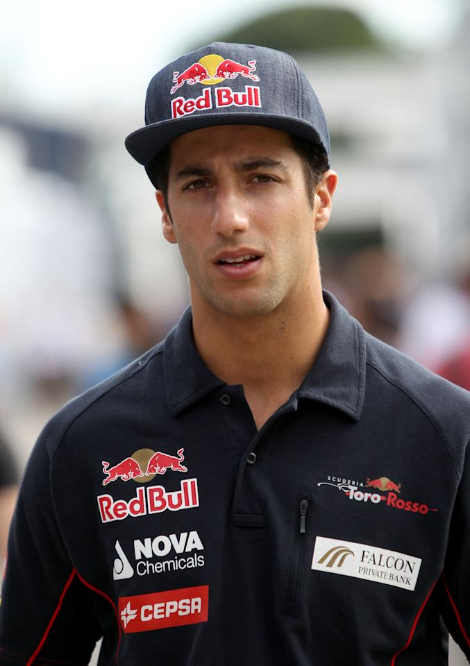 File photo dated 09/05/2013 of Torro Rosso driver Daniel Ricciardo.