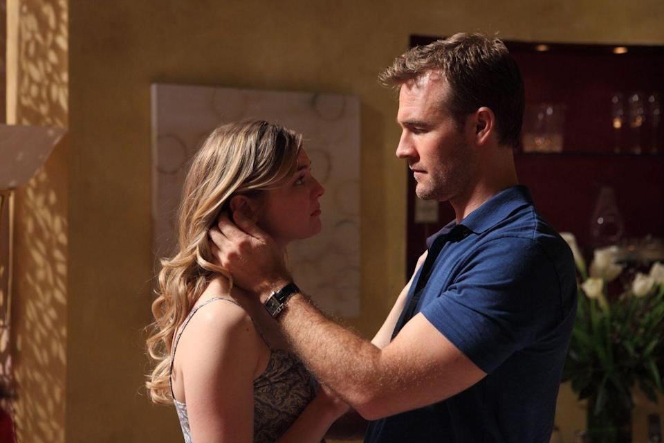 "<p>Van Der Beek takes a 180-degree turn from sweet Dawson Leery to creepy Sean Albert in season 13's episode, ""Father Dearest."" He's unsettlingly convincing as Albert, a man who takes advantage of teen girls searching for their biological fathers online. After seducing the daughter of his ex-girlfriend, he finds himself in hot water.</p>"