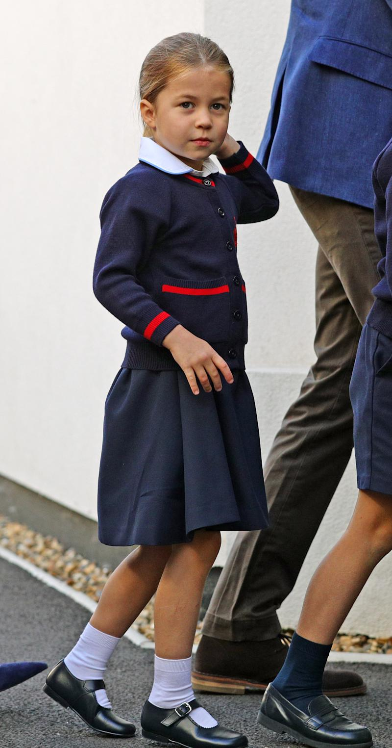 Princess Charlotte's name is top of the list. Photo: Getty Images